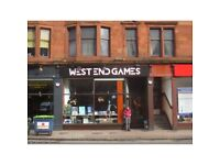 To Let - Glasgow West End Retail Shop- **100% Rates Free**