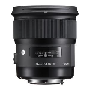 Sigma 24mm 1.4 Art Lens Canon mount