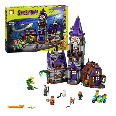 Compatible Scooby Doo Mystery Mansion Lego 75904 Building Bricks Pack