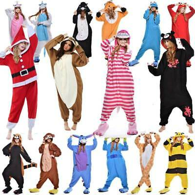 USA! Unisex Adult Kids Kigurumi Pajamas 1onesie Cosplay Costume Animal - Children Animal Costume