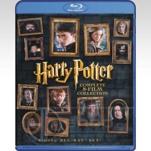 Harry Potter complete 8-film collection blu-ray