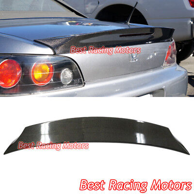 TD Style Rear Trunk Spoiler (Carbon) Fits 00-09 Honda S2000 AP1 AP2, used for sale  Shipping to Canada