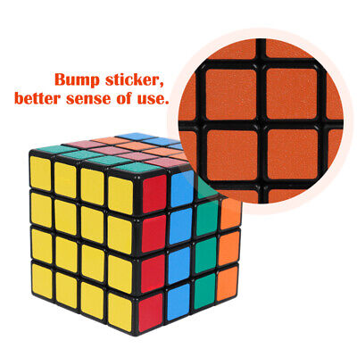 Rubiks Cube 4x4 Super Speed Ultra-Smooth Cube Stickerless Professional Cube Toy