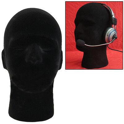 Male Styrofoam Foam Mannequin Manikin Head Model Glasses Cap Wig Display Stand.