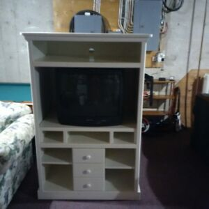 entertainment unit and tv combo