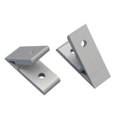1*45Degree Silver Aluminium Angle Corner Joint Bracket Connector For 2020 Useful 45 Degree Angle Bracket