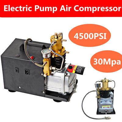 Compresor de aire PCP de la bomba eléctrica 4500 PSI para paintball...