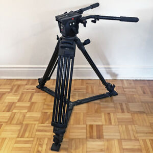 MANFROTTO 516 Pro Video Head / MANFROTTO 515MVB tripod with case