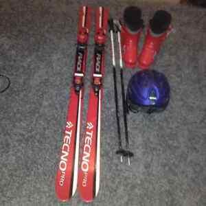 kit de ski pour enfants/ ski kit for kids