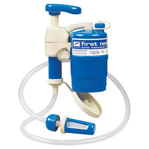 First Need Portable Water Purifier