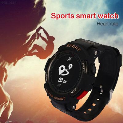 2538 GPS Smart Wrist Watch Heart Rate Remote Camera IP68 OLED Screen