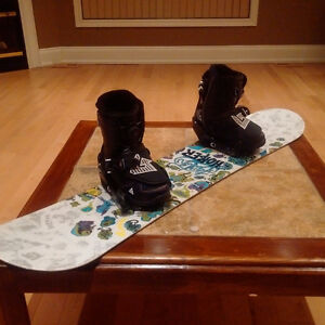 Burton Snowboard, Boots, Binding and Googles - EUC - Size 4 Boot