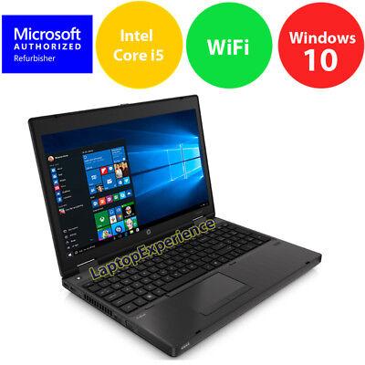 "HP ProBook 6570B LAPTOP COMPUTER CORE i5 2.6GHz 4GB 320GB 15.6"" Windows 10 KEY"