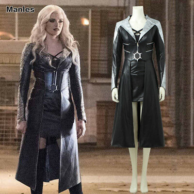 Killer Frost Caitlin Snow Costume Cosplay Halloween Girl Fancy Dress Outfits ](Halloween Costume Outfits)