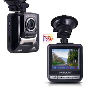 Ausdom Dash Cam 1080P FHD DVR Car Driving Recorder(AD282)NEW!