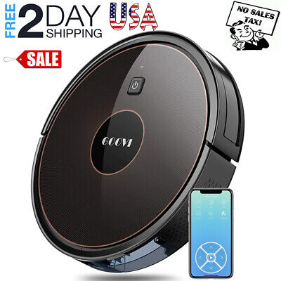 GOOVI D382 Robot Vacuum WiFi-Connected with Powerful Suction Voice Control USA