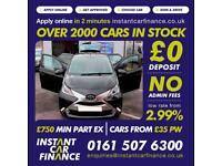 Toyota Aygo Vvt-I X-Clusiv Hatchback 1.0 Petrol GOOD / BAD CREDIT CAR FINANCE