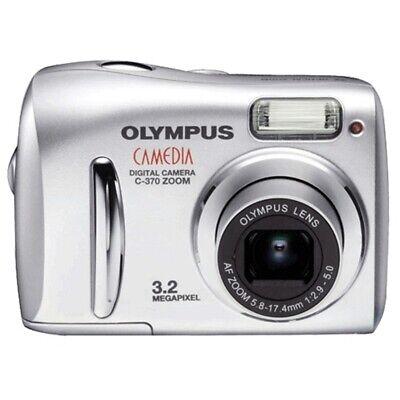 Camara Digital Olympus C-370 3,2 Mpx + Adapator + 4 baterias
