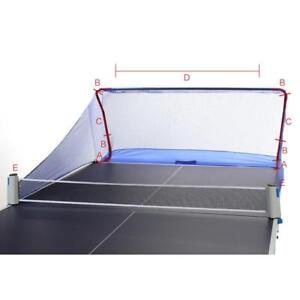 Table Tennis Balls Catch Net Ping Pong Training Equipment Serve Robot Practice 032022