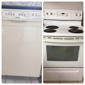 Used Kenmore Stove top oven & Dishwasher