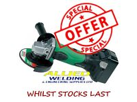 Hitachi CORDLESS Angle Grinder G18DSL/L4 18V WITH BATTERY AND CHARGER