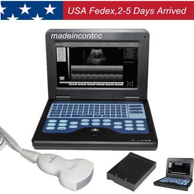 Cms600p2 Usa Portable Ultrasound Scanner Laptop Machine3.5mhz Convex Probe 2020