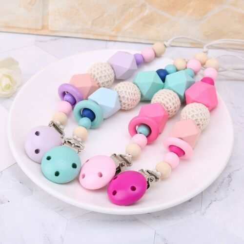 For Chew Pacifier Wooden Holder