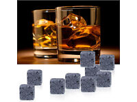 Wholesale ONLY 9pcs set Whisky Stones Boxed