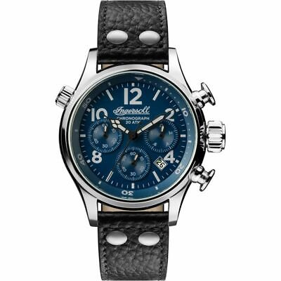 Mens Ingersoll The Armstrong Chronograph Watch I02001  R.R.P £270
