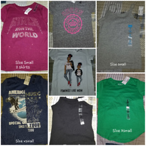 Childrens tshirts and tank top