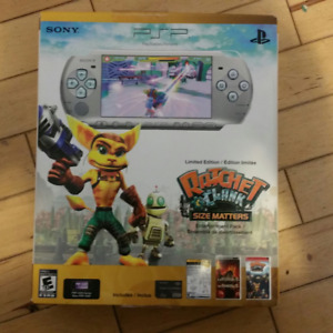 PSP (3000) Ratchet and Clank Size Matters Limited Edition Bundle