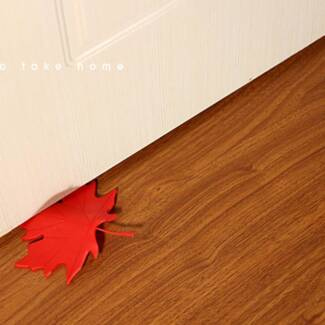 Autumn door stopper,Maple leaf