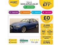 BMW 320d M SPORT 184 BHP Leather FROM £77 PER WEEK !