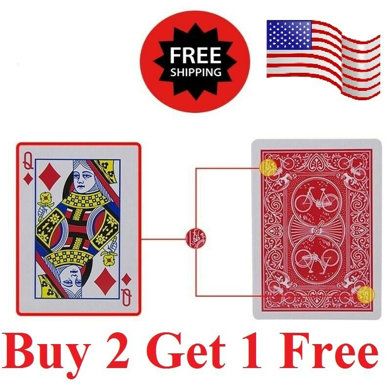 Ultimate Marked Deck cards Rider Back Marked Cards  Magic deck card cheating Collectibles