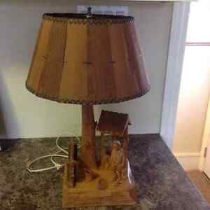 Vintage Quebec Lamp, by Caron Cornwall Ontario image 1