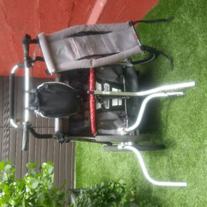 Chariot double cx2 thule