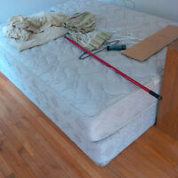 2 Queen-Sized Beds (Boxspring and Mattress)