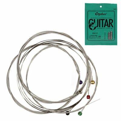 Orphee 6 unids / set Conjunto de Cuerdas de Guitarra Electrica Cuerda...