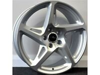 "19"" River R4s 5x112 Alloy wheels & tyres Suit Audi A3,VW MK 5,6,7 Golf, Caddy, Jetta,Seat (5x112)"