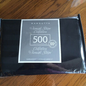 Queen Black Bedskirt-NEW