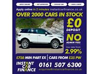 Land Rover Range Rover Evoque 2.2SD4(190bhp)4WD 2014MY Pure TECH FROM £93 PW