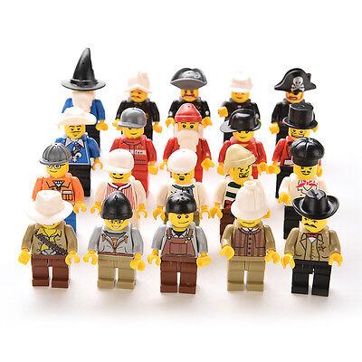Kyпить Grab Bag Lot of 20Pcs Minifigures toys Figures Men People Minifigs Best WF на еВаy.соm