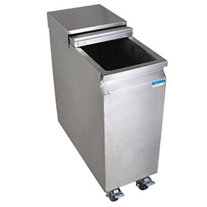 Undercounter Mobile Ice Caddy - Stainless Steel/Heavy Duty