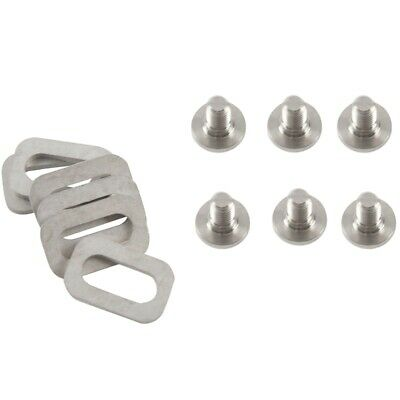 RockBros Titanium Ti Bolts Spacers Fit Shinano Road Bike Pedals SPD Cleats