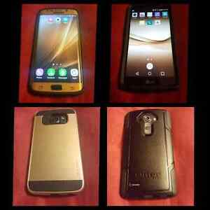 Selling 2 excellent condition top of the line Smartphones