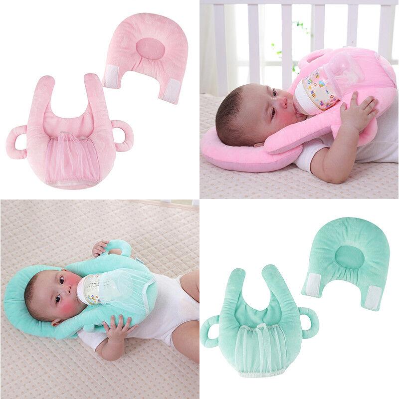 Baby Kopfkissen Nicki antiplatt gegen Kopfverformung Kissen Flaschenhalter 2tlg