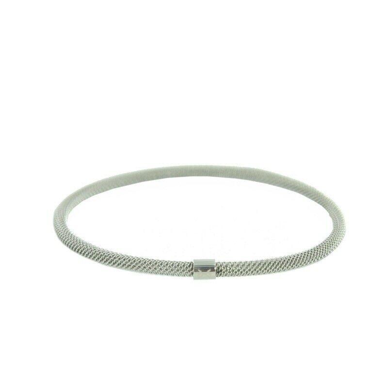 Skagen Damen Armreif Armband Milanaiseband silber JGSS020SM NEU