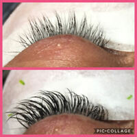 Eyelash extensions 50% off