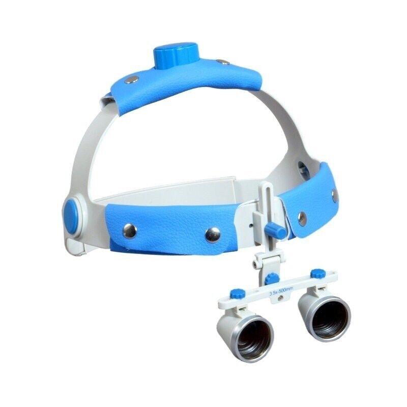 Headband Dental Surgical Binocular Loupes 3.5X/500mm