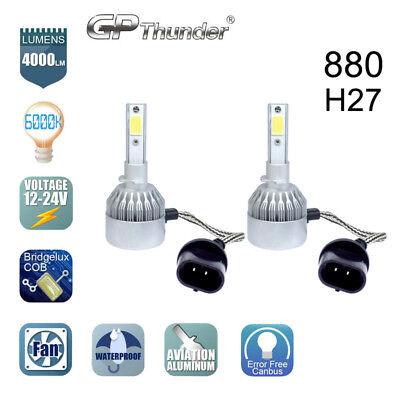 GP Thunder Cree LED 880 H27 881 885 893 899 6000K Fog Light DRL Bulb White comprar usado  Enviando para Brazil